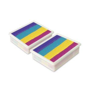 Ibiza - 10g/2pkt Face & Body Paint Cake Palette Refill