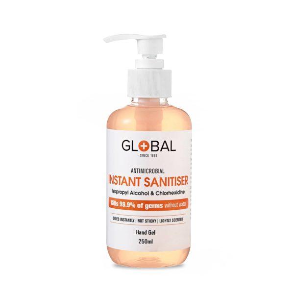 Sanitiser 80% IPA Hand Gel - 250ml pump bottle - No Fragrance